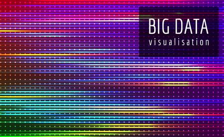 Złożona wizualizacja wektora przepływu dużych zbiorów danych.