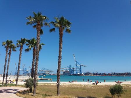Malta seashore Stockfoto