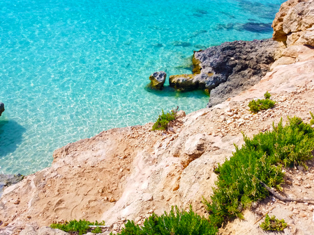 Malta seashore Фото со стока