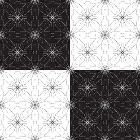 seamless geometric: senza soluzione di continuit� geometrica illustrazione ornamento vettoriale Vettoriali