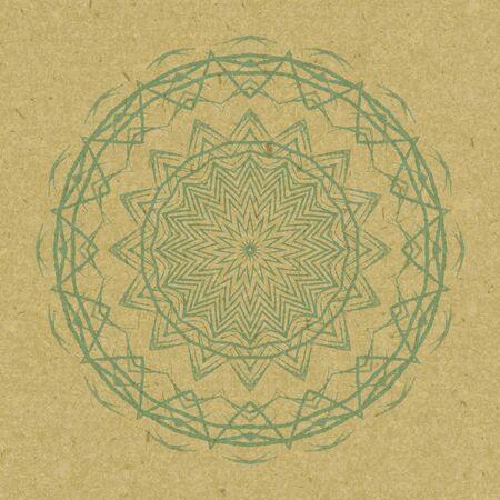 mandala: Mandala Round Colorful Ornament Pattern.