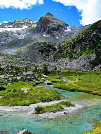 阿尔卑斯,山涧从这里出发/阿尔卑斯山涧赞颂曲 一