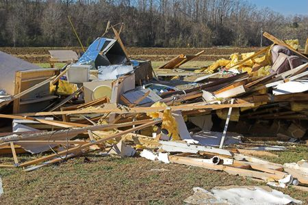Tornados ripped through Tennessee destroying 1000 of homes & business, car dealership totally destroyed