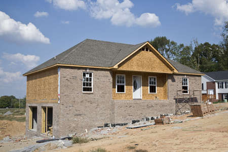 Housing boom is still going on in some areas , single  homes are selling fast Stock Photo - 1843476