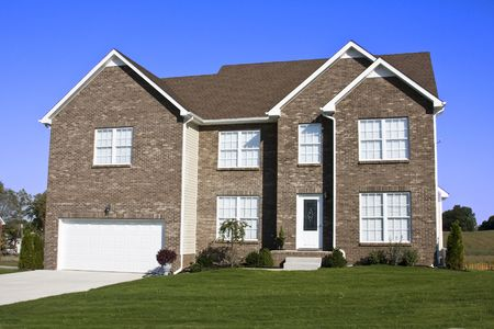 Housing boom is still going on in some areas, single  homes are selling fast Stock Photo - 1887902