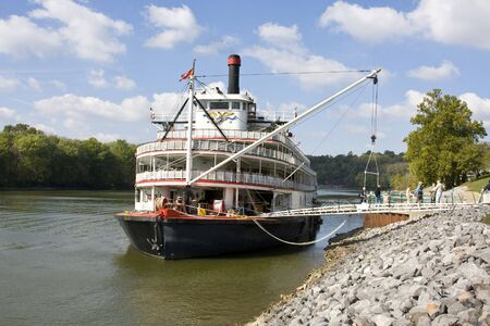 River tour paddle boat runs the Mississippi, Cumberland and other rivers in the US, This tour is very popular with retired couples, tours can last for 3 to 12 days