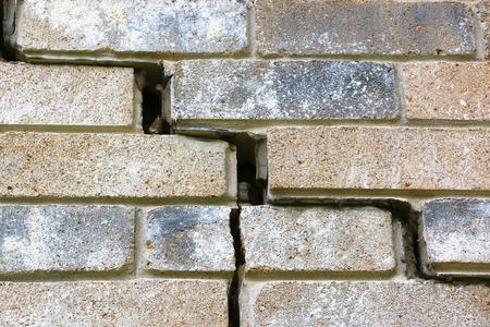 eventually: Questa parte della fondazione della casa sta vivendo insediamento (crollo). Alla fine, l'impiallacciatura mattone inizia a separarsi dalla serramenti. Infine si verificano problemi di inquadratura e tetto, cos� come i problemi idraulici. Problemi di fondazione non si ottiene