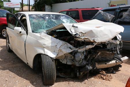 Three car wreck Reklamní fotografie