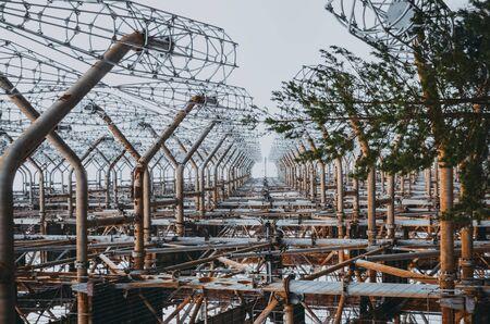 chernobyl-2 - Soviet over-the-horizon OTH radar system of the missile defense. Chernobyl, Pripyat