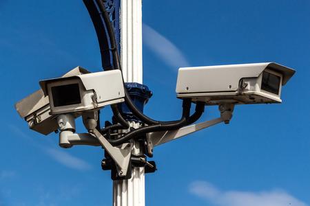 big brother spy: c�maras de vigilancia Foto de archivo