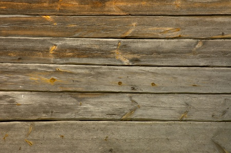 An ancient wooden wall of the treated timber Stock Photo - 13528789