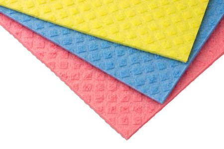 cellulose: Esponjas de celulosa de colores.
