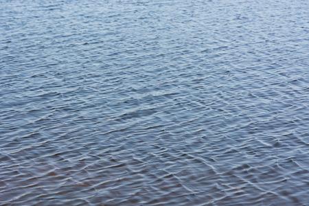 Ripples in the river water. Soft focus. Zdjęcie Seryjne