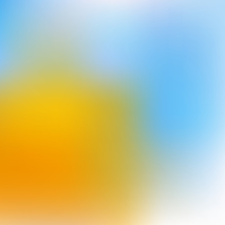 Abstract yellow and blue colorful background. Ilustracja