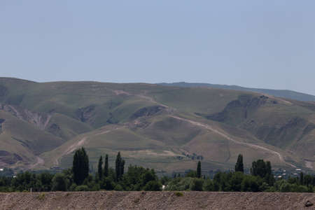 spring  tajikistan: montagne del Tagikistan