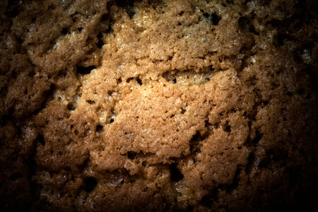 Background of oat biscuits.tinted photo