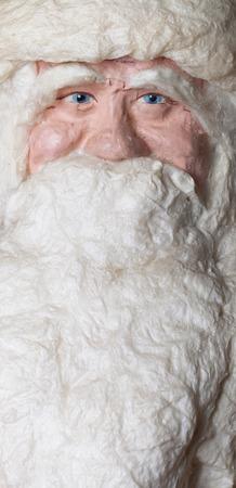 Portrait of toy Santa Claus photo