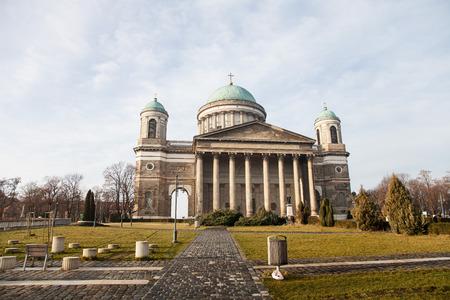 hungary: Basilica in Esztergom. Hungary.