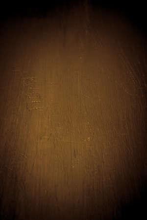 old desk: Texture of old wooden scratched desk. Background. Toned.