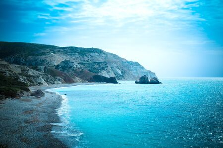 birthplace: Petra tou Romiou, Aphrodites birthplace. Paphos, Cyprus