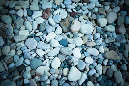 pebble beach: Different stones pebble beach.
