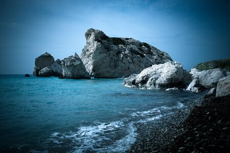 tou: Petra tou Romiou, Aphrodites birthplace. Paphos, Cyprus