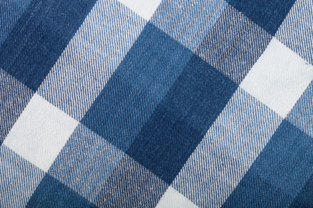 Flannel checkered background.