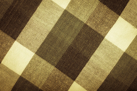 checkered background: Flannel checkered background. Toned. Stock Photo