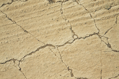 dry land: Cracked dry land. Natural . Stock Photo