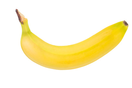 Banana isolated on white background. Reklamní fotografie