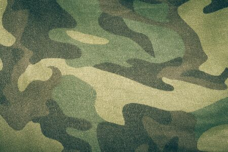 airforce: Fabrics with camouflage pattern. Background. Toned. Stock Photo
