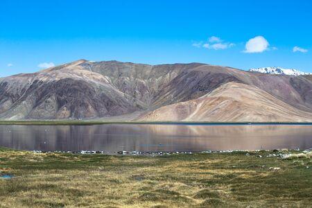 morskie: Expanse of Lake Bulun-Kul. Tajikistan.