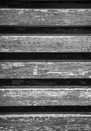 laths: Background of the old of wooden laths. Toned. Stock Photo
