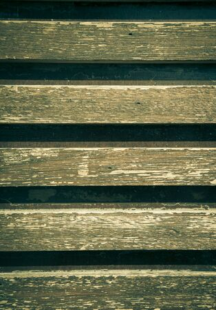 lath in modern: Background of the old of wooden laths. Toned. Stock Photo