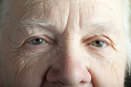 Portrait of elderly woman. Closeup view. Reklamní fotografie