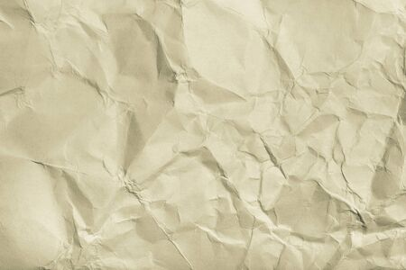 shiver: The texture of crumpled paper for background. Toned.
