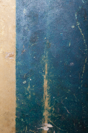 kitchen scraps: Black metal surface for background.