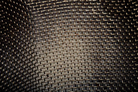 sieve: The surface of metal sieve for background. Toned.