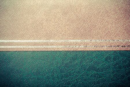 leatherette: Surface of leatherette for textured background. Toned.