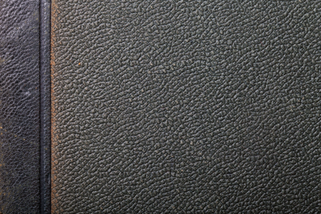 leatherette: Old surface of leatherette for textured background. Stock Photo