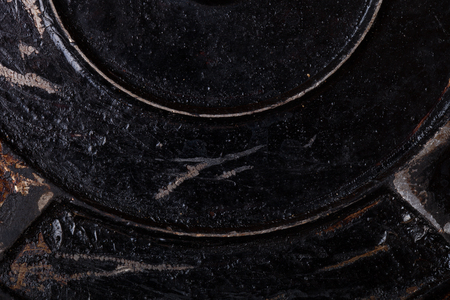 old metal: Old metal surface for background. Stock Photo