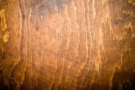fragment: Fragment of old wooden cutting board. Toned. Stock Photo