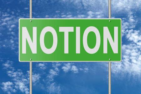 positivismo: Poste indicador en la placa azul en el fondo del cielo.