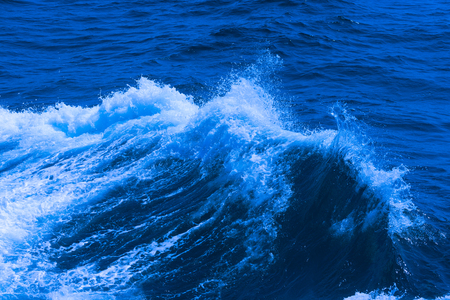 White crest of a sea wave. Selective focus. Shallow depth of field. Toned. Stock fotó - 82166578