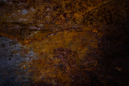 Old dirty metal surface for background. Toned.