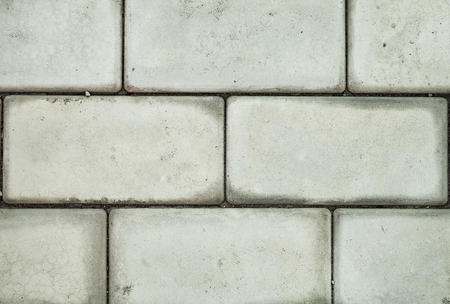Pattern of brick block on walkway, triangle block is difference 版權商用圖片