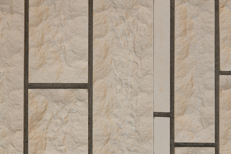 Wall of artificial brick background.