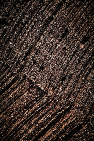 Surface of old brick for background. Toned. Stock Photo