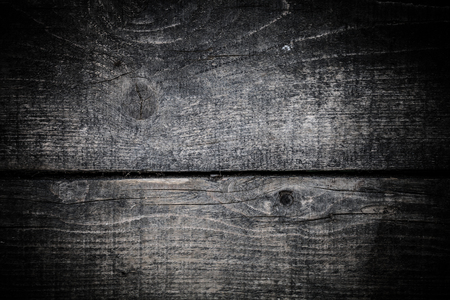Old wooden rustic texture for background. Rough weathered wooden board. Toned.