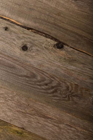Old wooden rustic texture for background. Rough weathered wooden board.